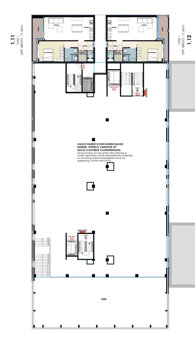 Residentie Academie 1ste verdieping, zorg op maat, koop een assistentiewoning in Aalter