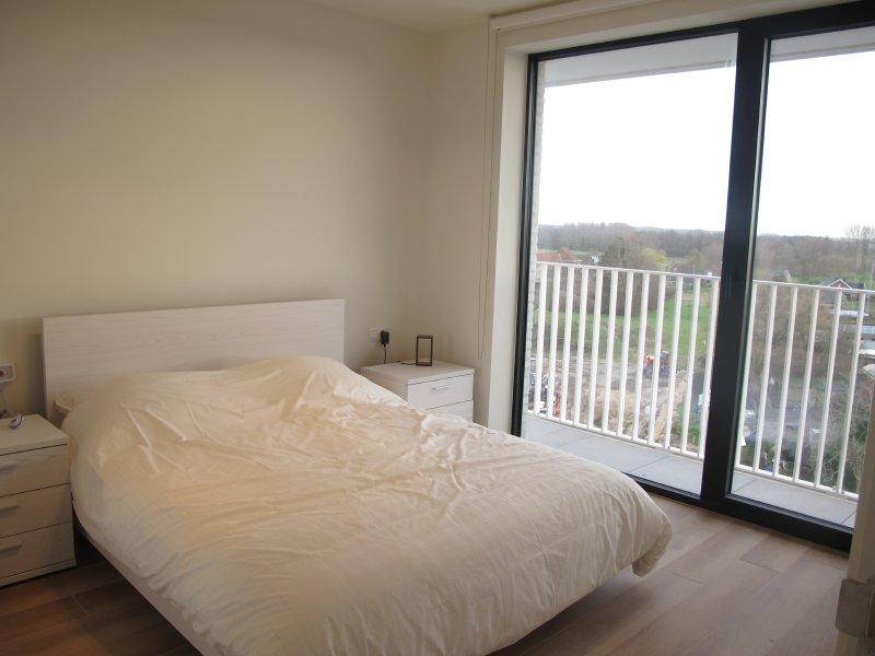 Ruime slaapkamers in Residentie Academie te Aalter