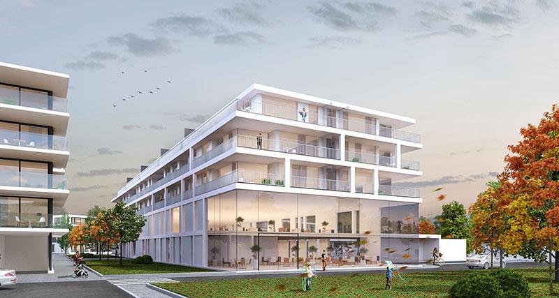Residentie Academie | Assistentiewoning in Aalter kopen. Vlakbij het centrum en het station.
